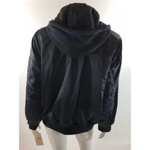 ce1b2764d79 Levi s Jackets   Coats - Levis Womens Satin Bomber Jacket Plus Sz 1X Black